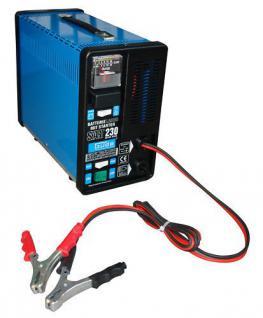 12V 200AH Batterielader Batterie Ladegerät Starterkabel