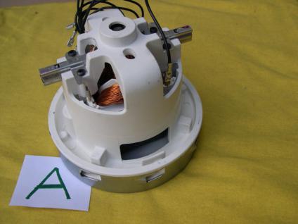 1x Saugermotor für Würth ISS 35S 1,2KW Turbine Original Ametek - Vorschau