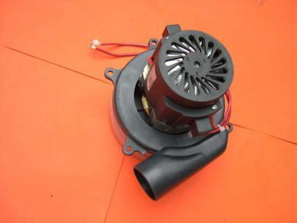 24V Industriesauger Motor mit Abluftrohr Saugförderer