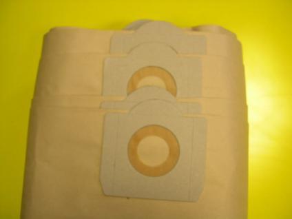 10 Filtersäcke Columbus SW 30P Einhell INOX 30A Sauger - Vorschau