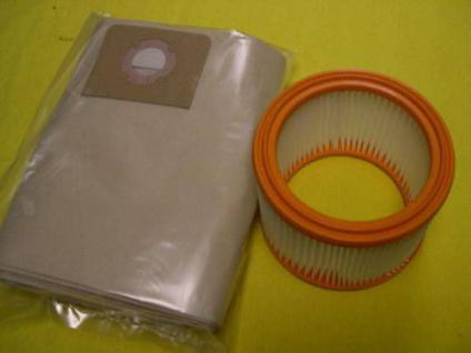 Set Filterpatrone + Staubbeutel Wap Turbo XL Sauger