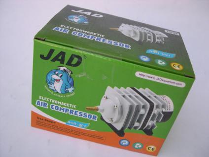 Jad ACQ- Teichbelüfter 1500 l/h Kolben - Belüfter Teichdurchlüfter für Teich