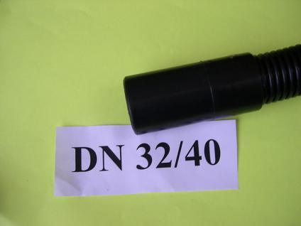Saugschlauch - Muffe Gummi DN32/40 für Kärcher NT Sauger für Saugschlauch 40mm - Vorschau