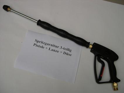 Set Hochdruckpistole + Lanze 120 + Düse für Kärcher HD HDS Hochdruckreiniger - Vorschau