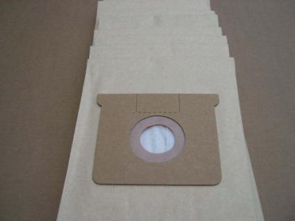 10 Stück Staubsaugerbeutel Filterbeutel für Kärcher NT361 NTZ361 eco TE Sauger