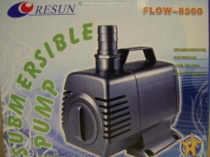 R Filterpumpe Flow 8500 l/h Bachlaufpumpe Teichpumpe