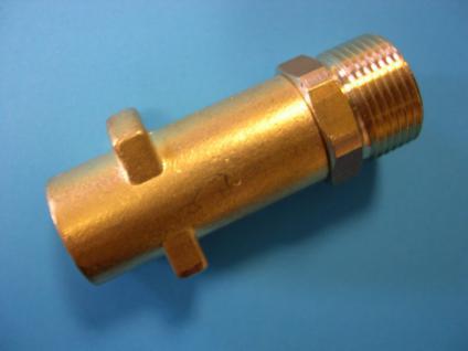 Bajonett - Kupplung M22x1,5 AG für Kärcher Hochdruckreiniger - Vorschau