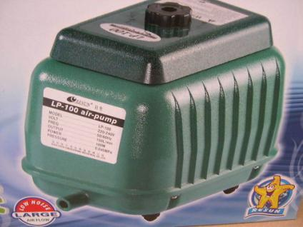 9000 Liter - Teichbelüfter Hochleistungs - Durchlüfter für Koiteich Gartenteich