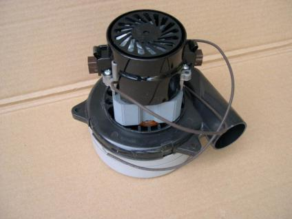 230V Industriesauger Motor mit Abluftrohr Saugförderer
