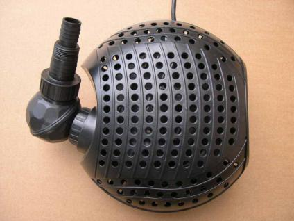 Teich- u. Bachlaufpumpe 7500 l/h Filterspeisepumpe Teichfilterpumpe Filterpumpe