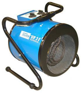 Heizlüfter E- Heizer 1,5 -3 KW Elektroheizung Bauheizer