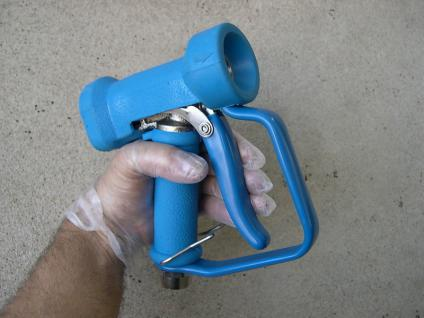 Niederdruck- Sprühpistole Waschpistole bis 25 bar u. 80°C Lebensmittelbetriebe