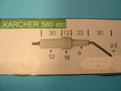Zündelektroden Elektroden Paar für Kärcher HDS 580 Hochdruckreiniger