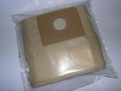 10 Filterbeutel Filtertüten für Kärcher NT 501 NT551 Sauger Staubsaugerbeutel