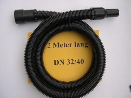 2m Sauger - Set 3tg 40mm für Kärcher NT 48/1 301 351 361 561 eco Alaska Einhell