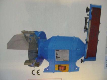 Profi Schleifmaschine Kombischleifer Bandschleifer 250W - Vorschau
