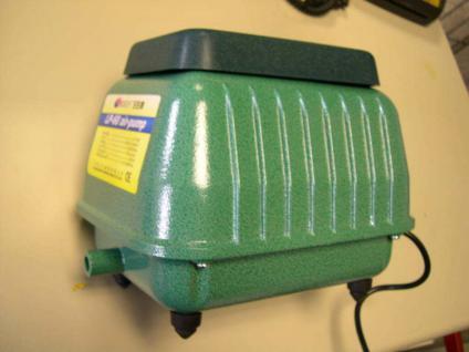 1A Membran-Durchlüfter 4200 ltr./Stunde Sauerstoffpumpe für Gartenteich Koiteich - Vorschau