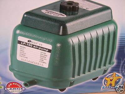 Resun LP-100 Teichbelüfter 9000L/h Belüfter Durchlüfter
