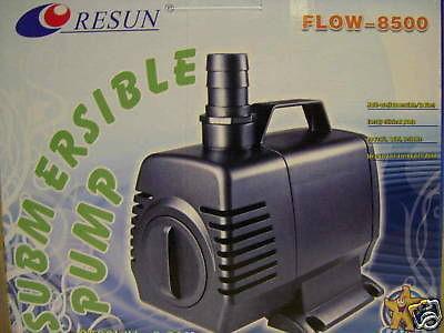Resun Flow 8500 Liter Teichfilterpumpe Bachlaufpumpe Wasserfallpumpe Filterpumpe