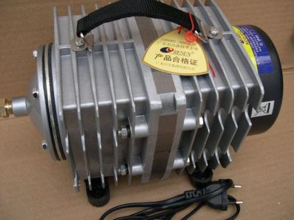Resun Profi Kolbenkompressor 12000 l/h Belüfter Sauerstoffpumpe Teichbelüfter - Vorschau