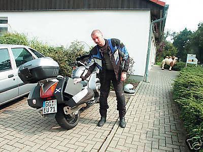 Holzkohlegrill Motorrad - Grill V2A Campinggrill Tisch - Vorschau 2