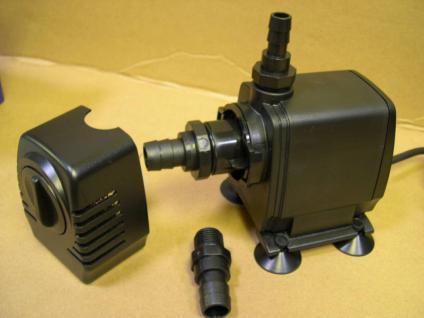 Bachlauf- Wasserfall- Teichfilterpumpe 8500 L/h Filterpumpe Filterspeisepumpe