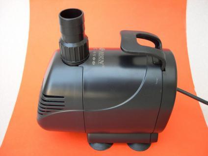 Profi Wasserspiel- und Bachlaufpumpe R 7000 Liter/h Filterpumpe Wasserfallpumpe - Vorschau