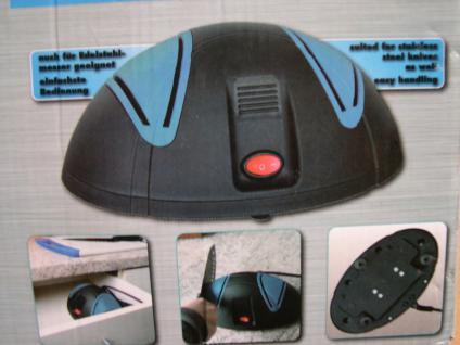 elektr. Messerschärfgerät (230V) für Fleischmesser Küchenmesser Edelstahlmesser