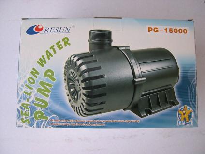 PG15000 Teichfilter - Pumpe Filterpumpe Strömungspumpe 15000 l/h Koi Koiteich - Vorschau