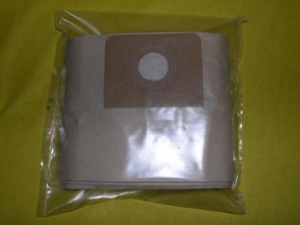 2 Packungen (a 5 Stück ) =10 Filterbeutel Filtertüten für Wap Turbo XL Sauger
