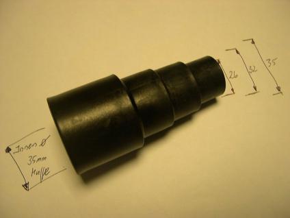 Saugschlauch - Elektrogeräteadapter 26 32 36 mm für Bosch Sauger Staubsauger