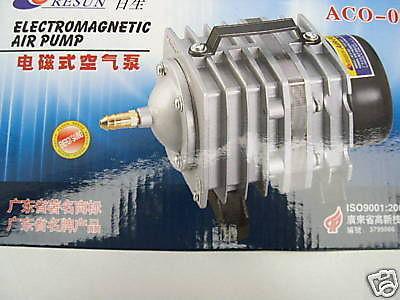 Resun Profi Teichbelüfter 3900 l/h Belüfter Durchlüfter Kolbenkompressor Teich - Vorschau 1