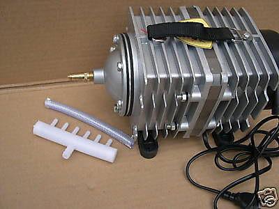 Resun Profi Teichbelüfter 3900 l/h Belüfter Durchlüfter Kolbenkompressor Teich - Vorschau 2