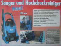 Neuheit Hochdruckreiniger + Industriesauger Kombigerät