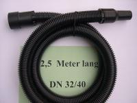 2,5m Saugschlauch m Muffen 3tg DN32 Starmix NT Sauger