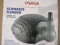 Bachlauf- u Teichfilterpumpe Filterspeisepumpe 11000 L