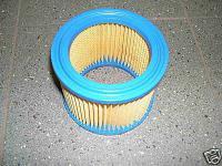 Rundfilter Filterpatrone für Wap Nilfisk Alto Buddy 18 15 Sauger