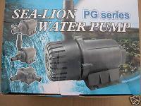 Profi Filterpumpe 8000L/h Bachlaufpumpe f Teichfilter