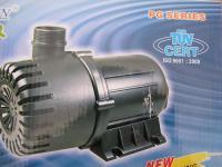 Bachlaufpumpe Teichfilterpumpe Filterpumpe 18000 Liter