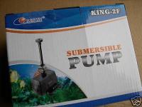 Profi Bachlaufpumpe King- 2 / F Springbrunnen - Pumpe 1000 l/h Bachlauf