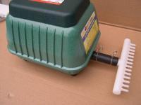 Profi Sauerstoffpumpe 4200 Liter Teichdurchlüfter für Ausströmer Gartenteich Koi