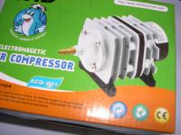ACQ Sauerstoffpumpe 1500 l/h Kolben - Belüfter Durchlüfter für Gartenteich