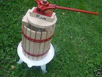 Saftpresse Beerenpresse Weinpresse Weinkelter Entsafter -inklusive Presstuch-