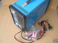 Profi - Ladegerät Batterie - Lader Auto Batterie Ladegerät Starterkabel