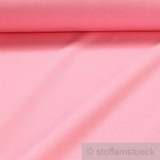 0, 5 Meter Baumwolle Lycra Interlock Jersey Bündchen rosa 45 cm breit Schlauch