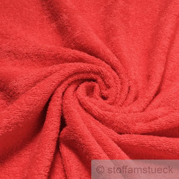 stoff baumwolle frottee rot frott zweiseitig baumwollstoff weich kaufen bei stoff am st ck. Black Bedroom Furniture Sets. Home Design Ideas