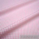 Stoff Baumwolle Vichy Karo rosa weiß 2, 5 mm Vichykaro