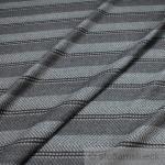 Stoff Wolle Fischgrat Streifen grau anthrazit reine Wolle Wollstoff