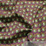 Stoff Kinderstoff Baumwolle violett Maus Mäuse lila Baumwollstoff
