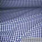 Stoff Baumwolle Vichy Karo groß dunkelblau weiß 5 mm Vichykaro